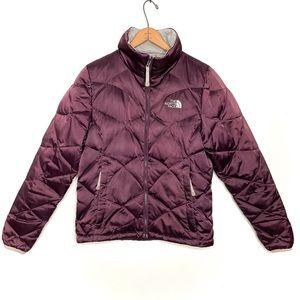 North Face 550 Aconcagua Satin Goose Down Coat